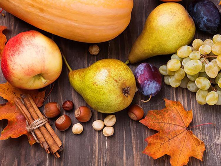 Alimentos de Temporada Otoño Saludables