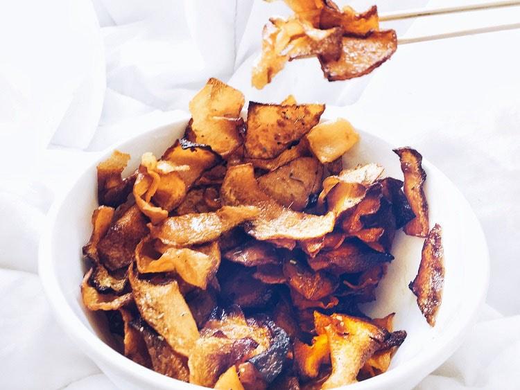 Patatas Fritas de Calabaza Saludables